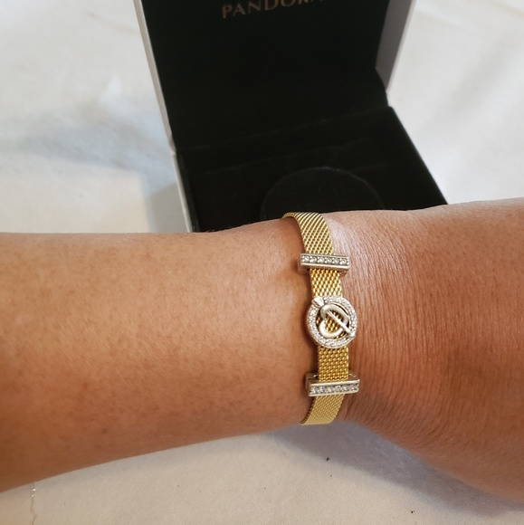 Pandora Reflexion Shine Bracelet with Charms